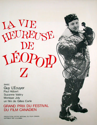 La Vie heureuse de Leopold Z affiche