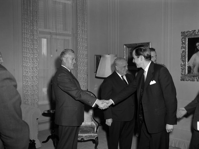 In 1962, Jacques Parizeau is named economic and financial adviser to Premier Jean Lesage and his Cabinet